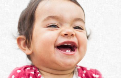Foto: Erste Zähne