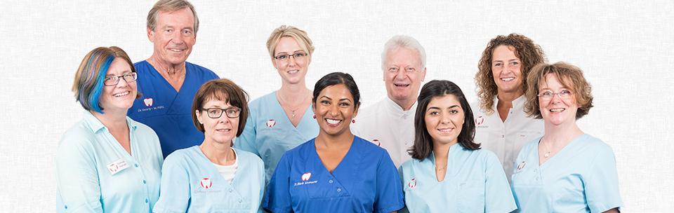 Foto: Team der Zahnarztpraxis Granzow in Neumünster