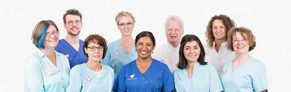 Das Team der Zahnarztpraxis Granzow in Neumünster